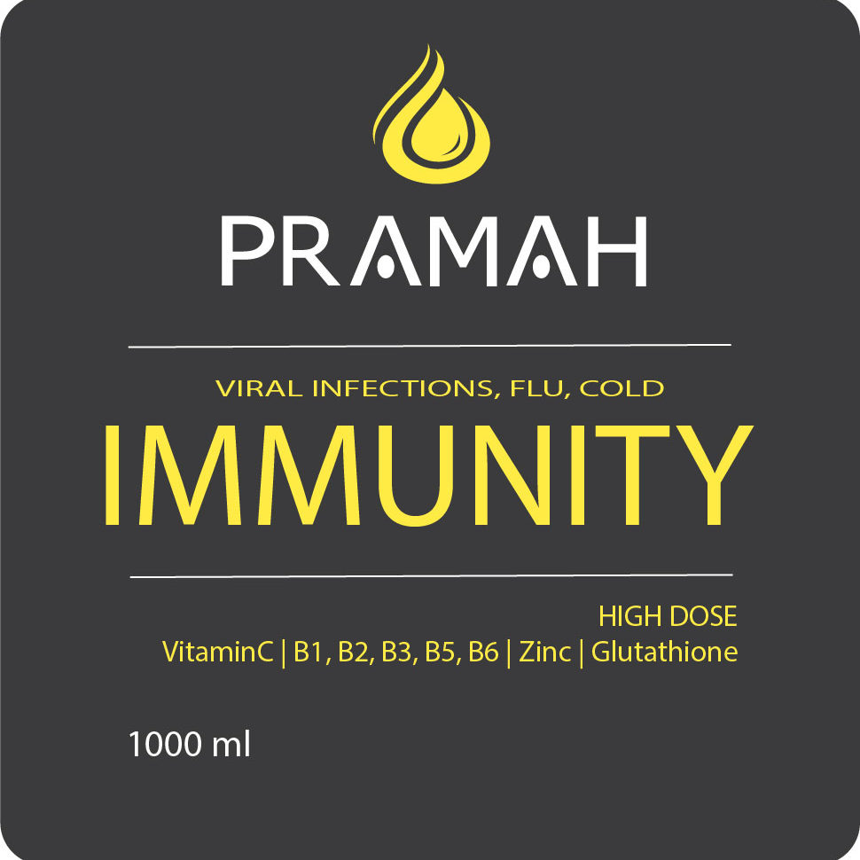 iv bag immunity label